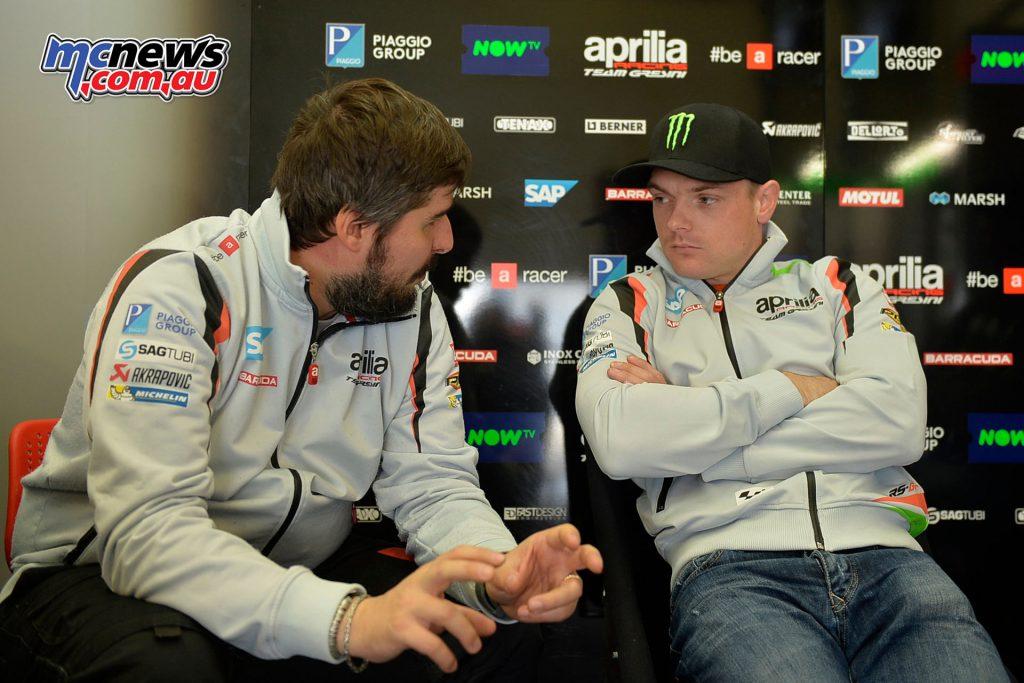 Sam Lowes - Final 2016 Test Jerez