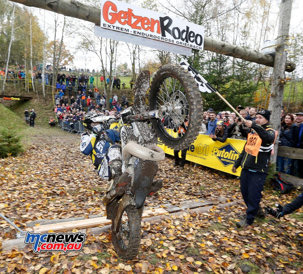 Jarvis tops the podium again in Germany at the GetzenRodeo – German Extreme Enduro