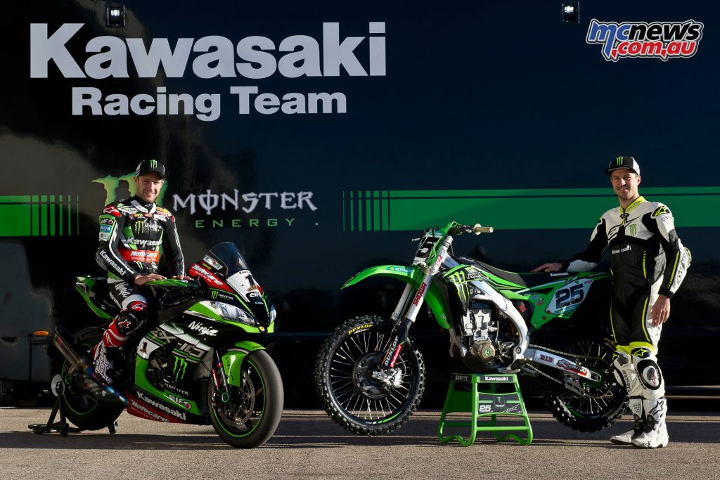 2016 KRT Rider X Over - Jonathan Rea and Clément Desalle