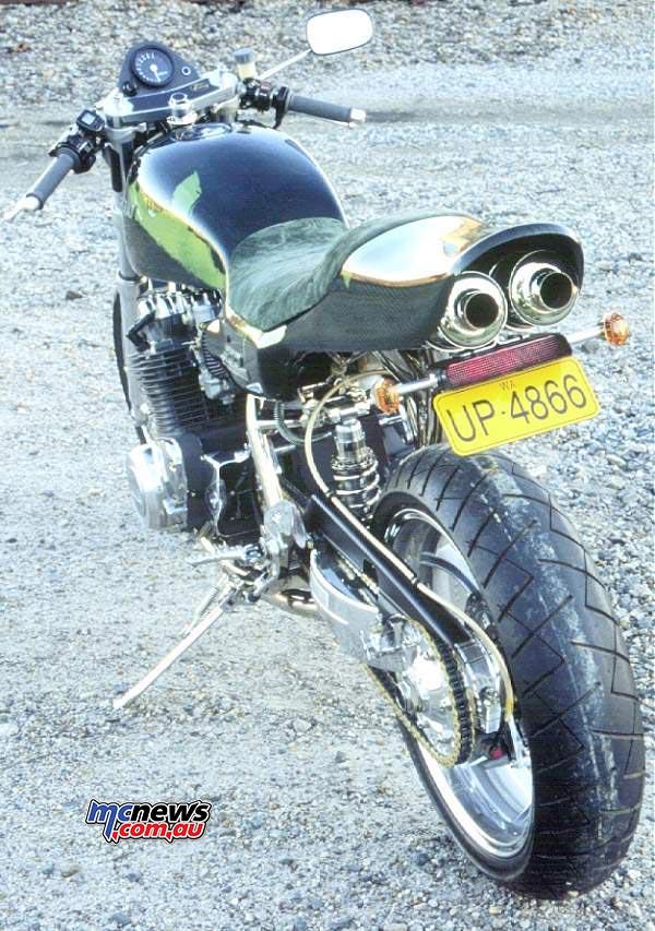 Kawasaki Z900 - Image by Rick McDowell