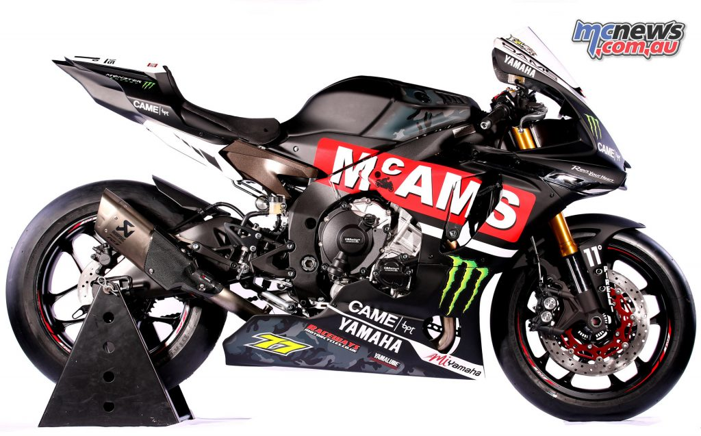 McAMS Yamaha launch BSB superbike team with Laverty and Ellison