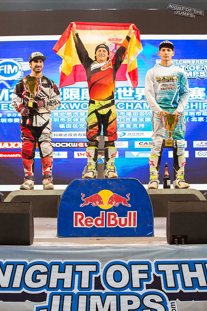 Melero dominated China to take another Freestyle World Title