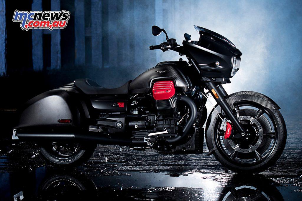 Moto Expo Melbourne - Moto Guzzi MGX-21