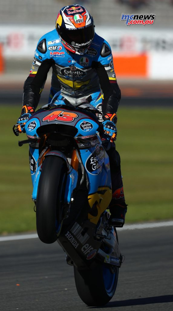 Jack Miller at Valencia - Image by AJRN