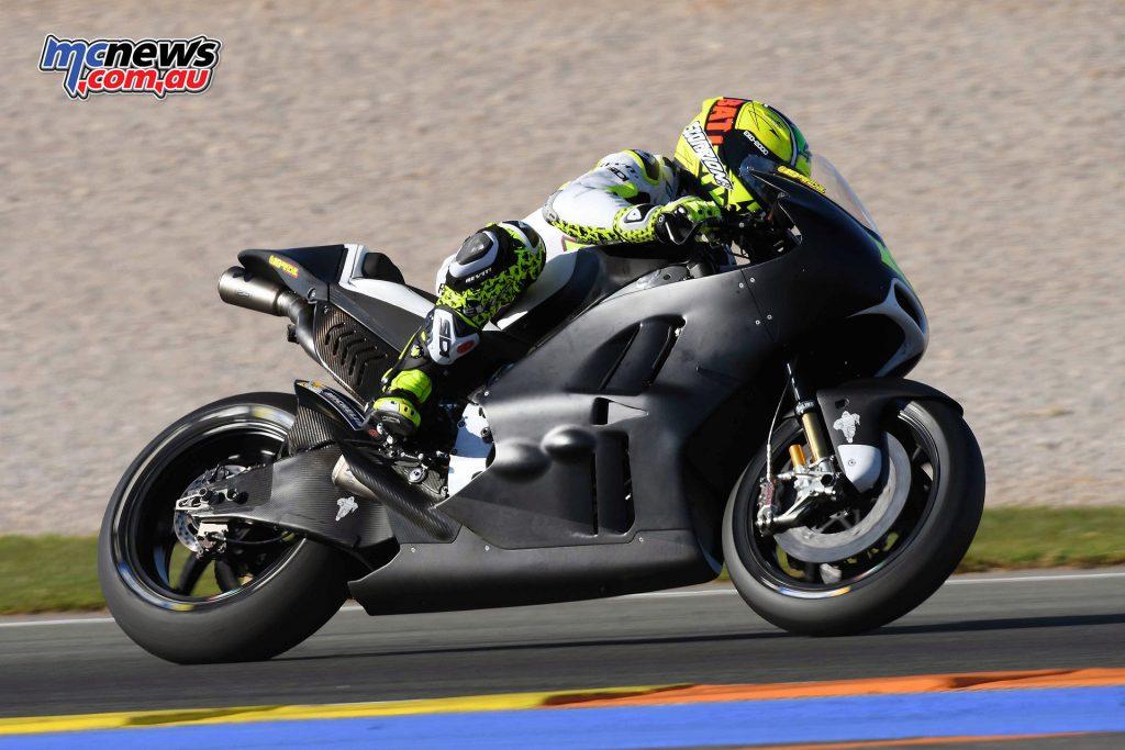 MotoGP Valencia Test - Alvaro Bautista