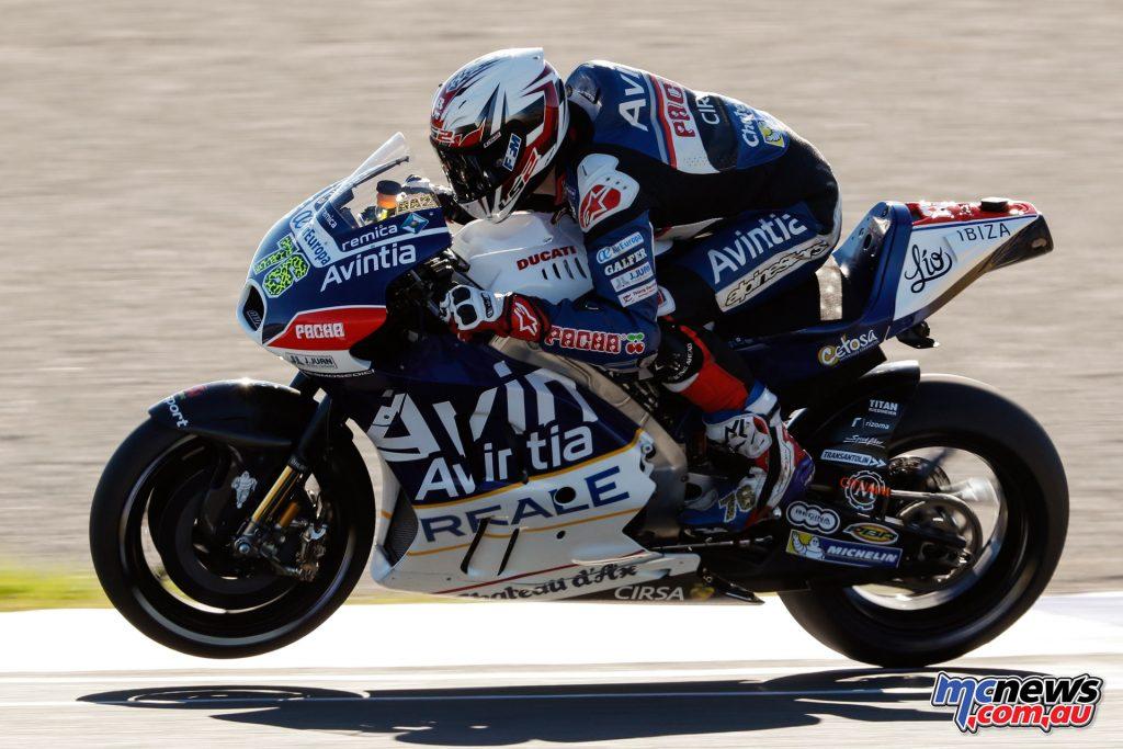 MotoGP Valencia Test - Loris Baz