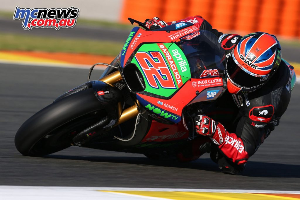 Sam Lowes was unable to test after a Day One crash