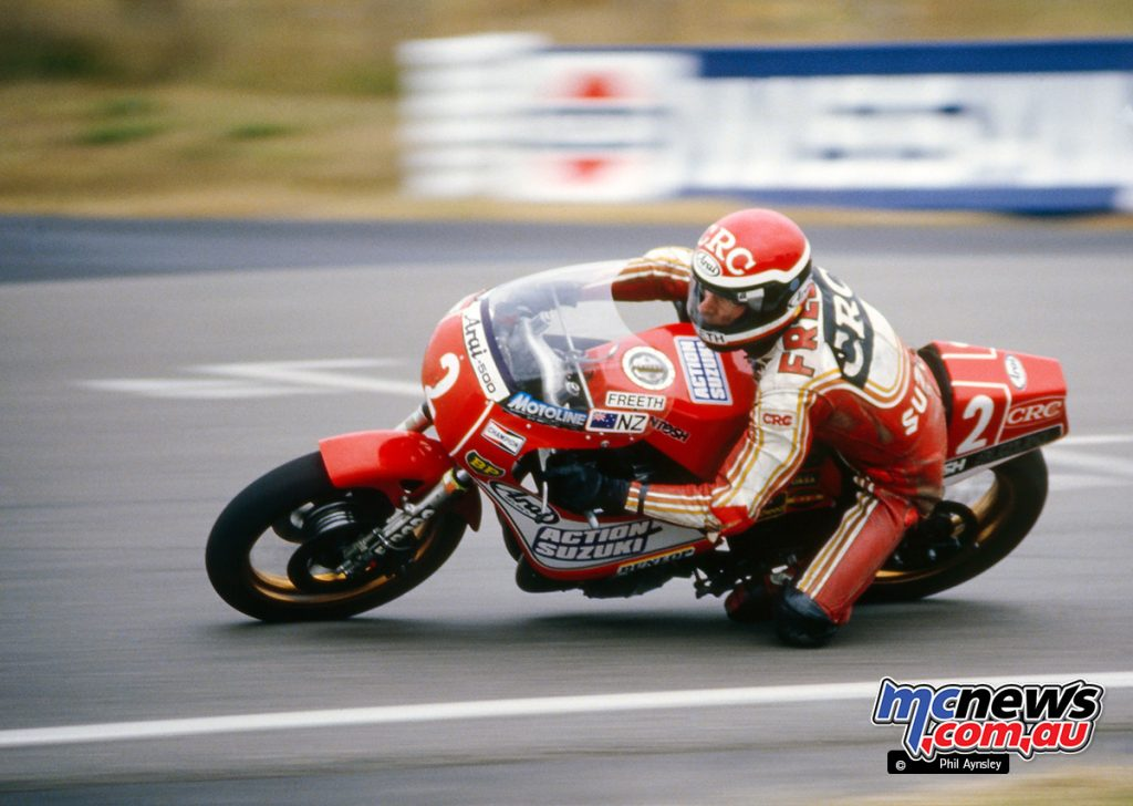 Bathurst 1984 - Roger Freeth/McIntosh Suzuki 1000.