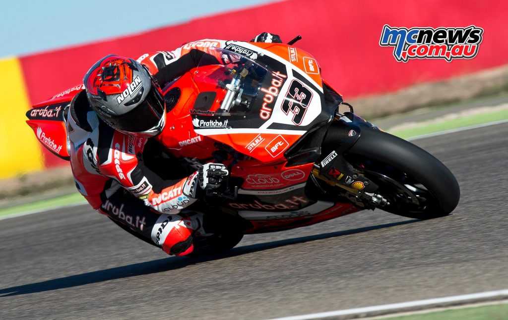 2017 WorldSBK Test Aragon - Marco Melandri