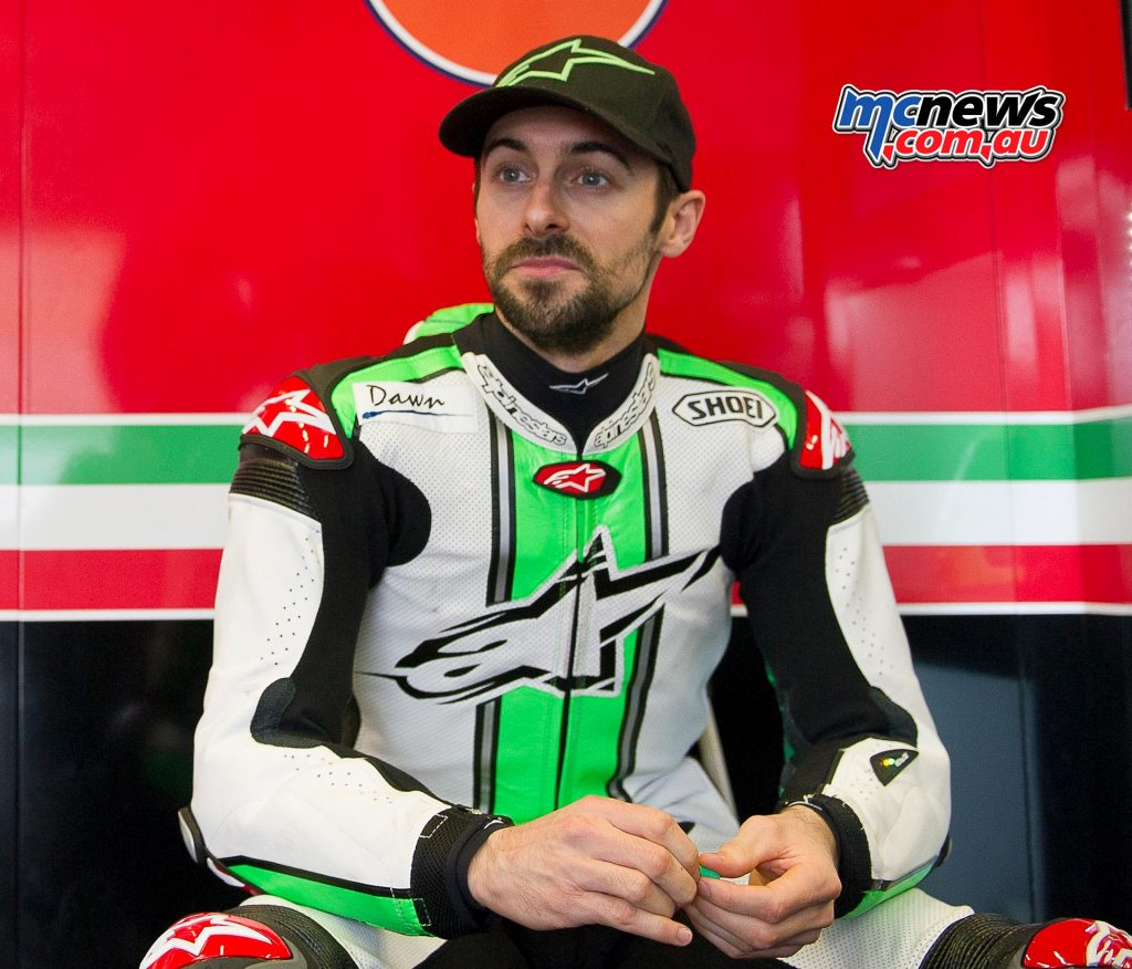 2017 WorldSBK Test Jerez - Eugene Laverty