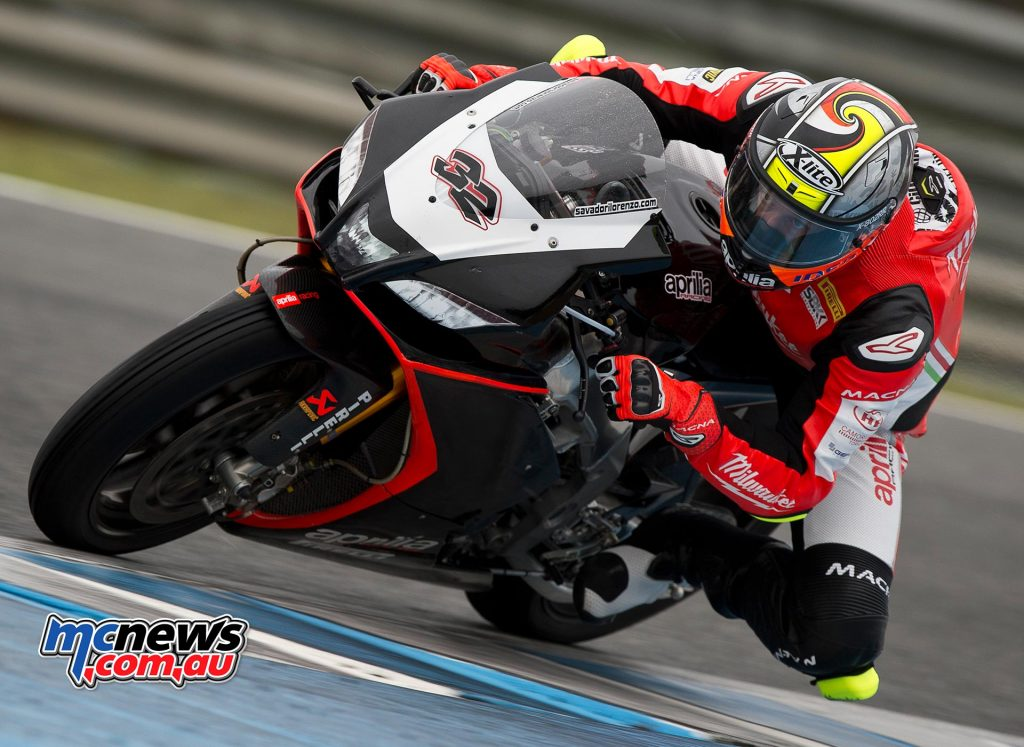 2017 WorldSBK Test Jerez - Lorenzo Savadori