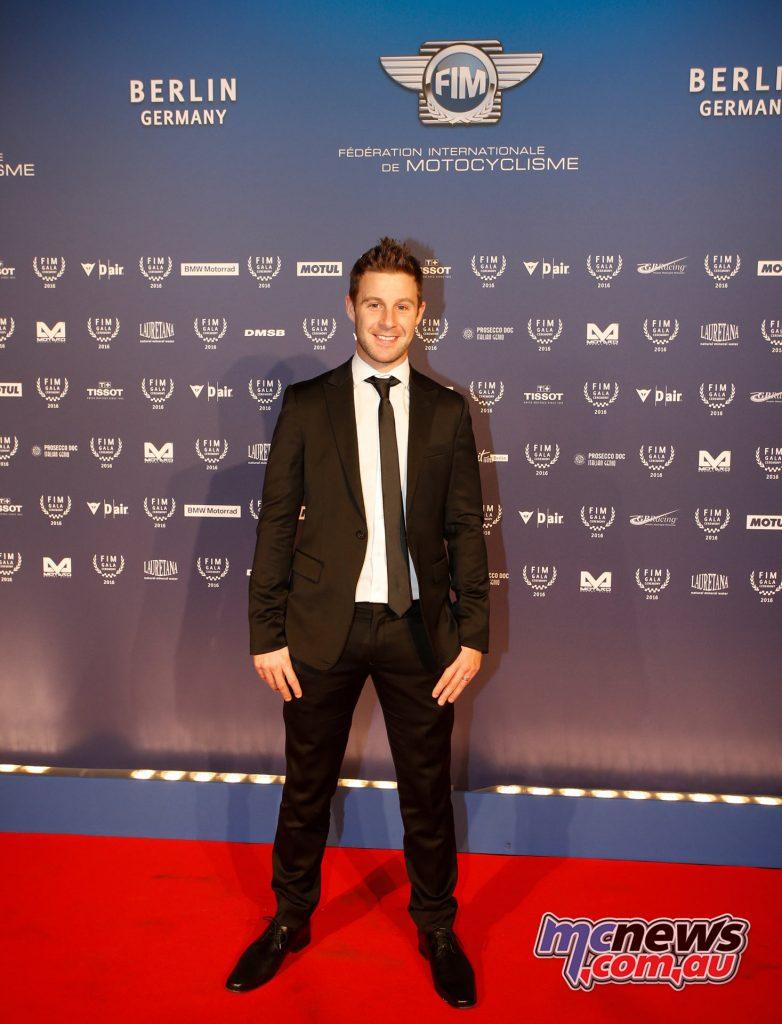 2016 FIM Gala - WSBK Champion - Jonathan Rea