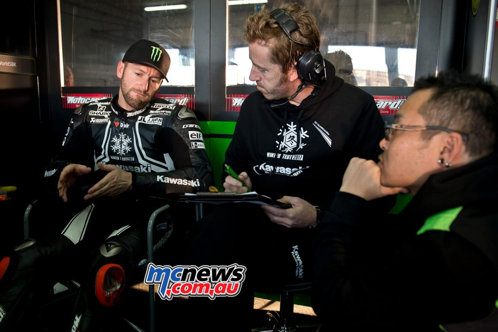 Tom Sykes and Crew