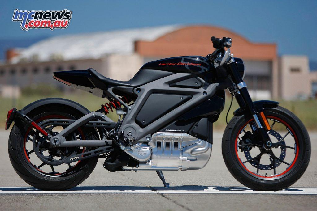 Moto Expo Melbourne - Harley Davidson Electric Livewire