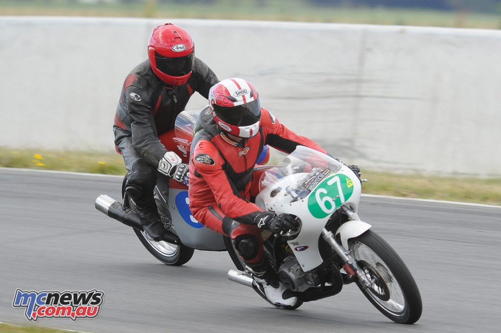 Australian Historic Road Racing Championships 2016 - Image by Colin Rosewarne - Brett Metcalf, Keith Campbell