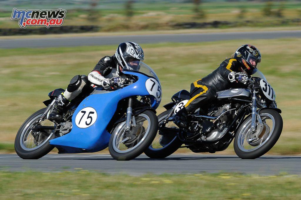Australian Historic Road Racing Championships 2016 - Image by Colin Rosewarne - Darren Trotter and Dan Gleeson - Classic Unlimited