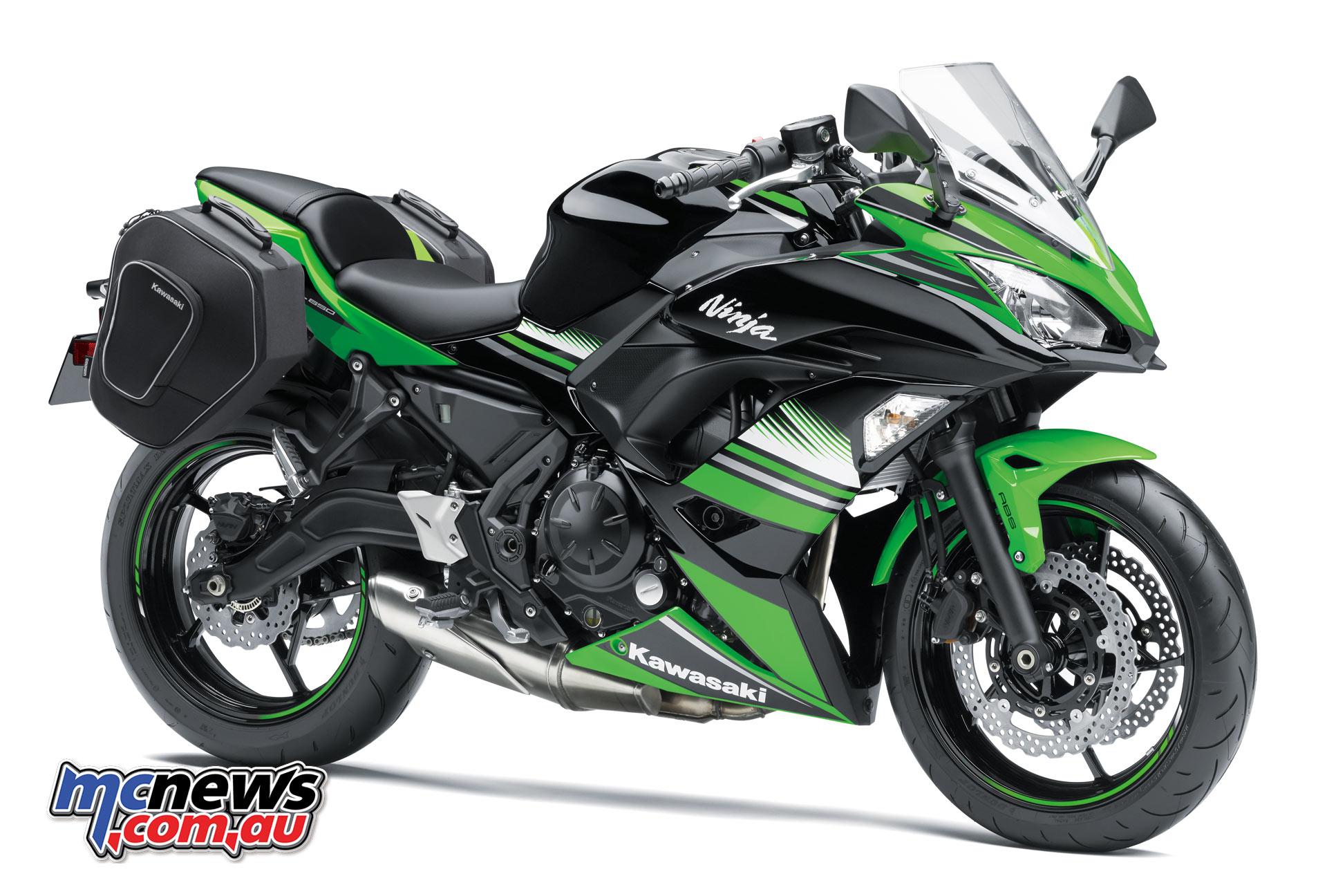 Kawasakis New For 2017 Ninja 650 650l Mcnewscomau