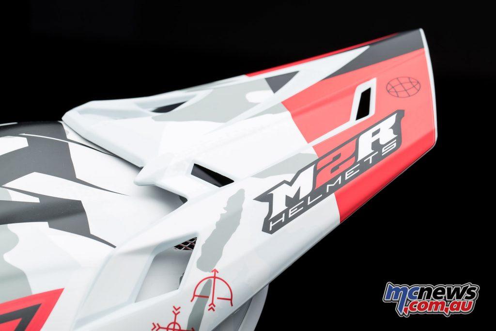 2017 M2R X4.5 off-road helmet - Safety Shear Peak