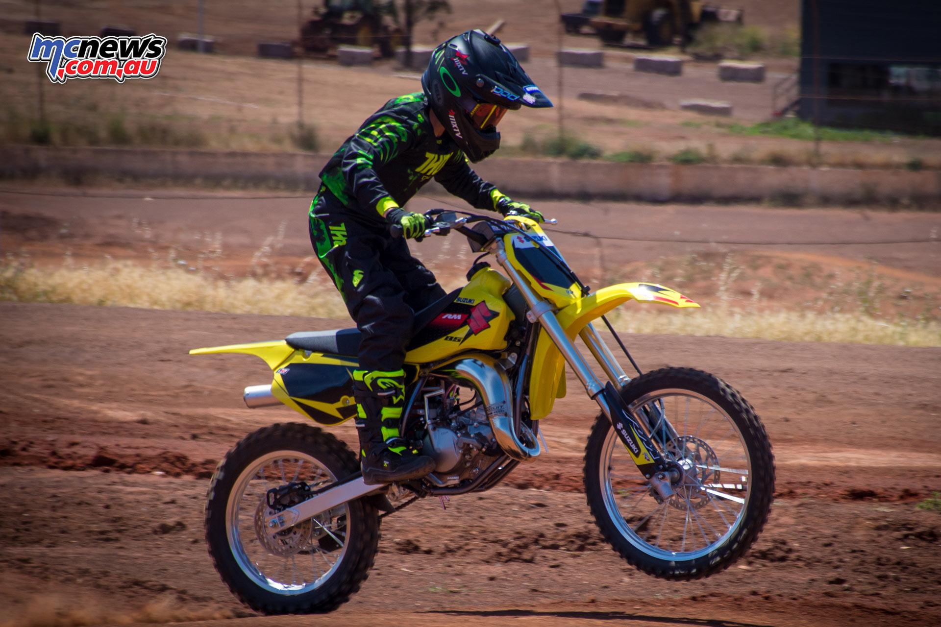 Suzuki Update Rm85 Bonus Race Kit Mcnews Com Au