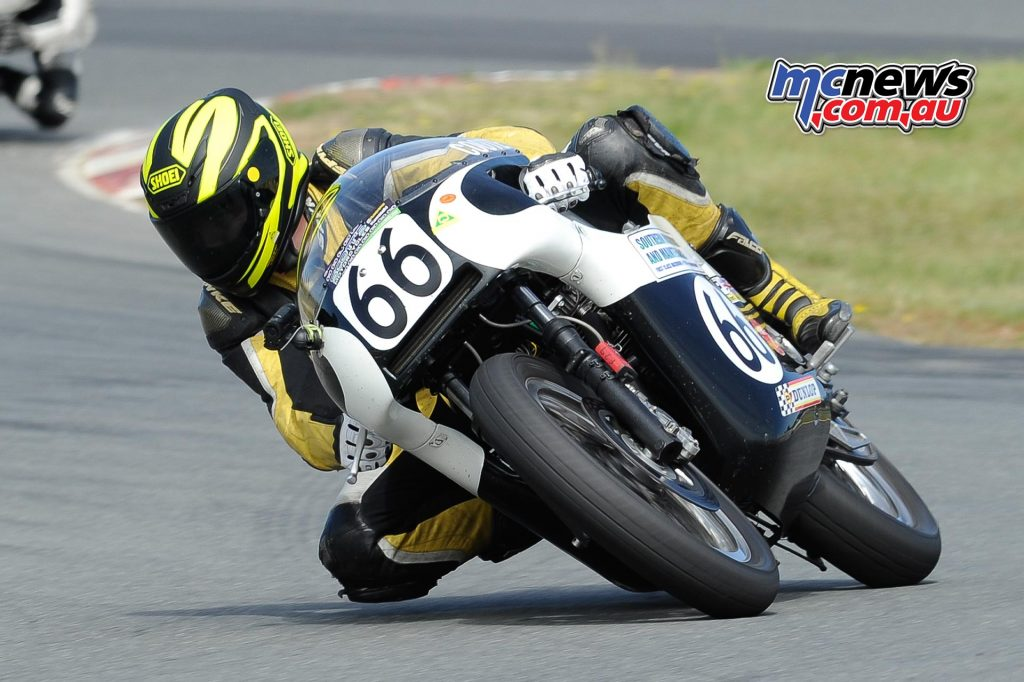 Australian Historic Road Racing Championships 2016 - Image by Colin Rosewarne - Aaiden Coote Triumph Trident