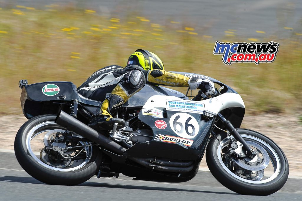 Australian Historic Road Racing Championships 2016 - Image by Colin Rosewarne - Aaiden Coote - Triumph Trident 750