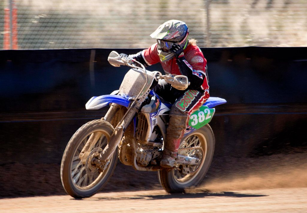 Pope Building Services 2016 Victorian Dirt Track Championships staged at the Broadford State Motorcycle Complex track over the weekend of December 10 / 11. Bradley Burns - Image by Bill McFarlane