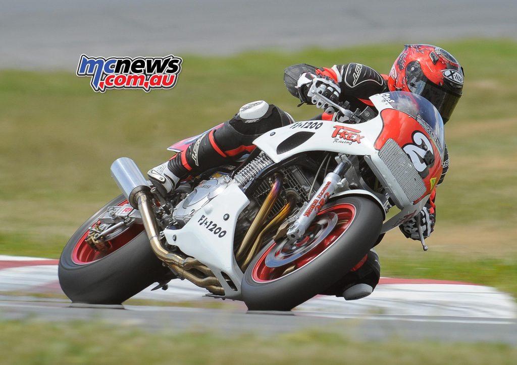 Australian Historic Road Racing Championships 2016 - Image by Colin Rosewarne - Chas Hern on Yamaha FJ1200