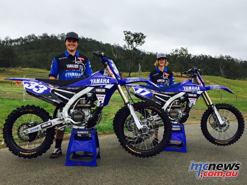 Cody Dyce and Cooper Pozniak join Yamaha for 2017