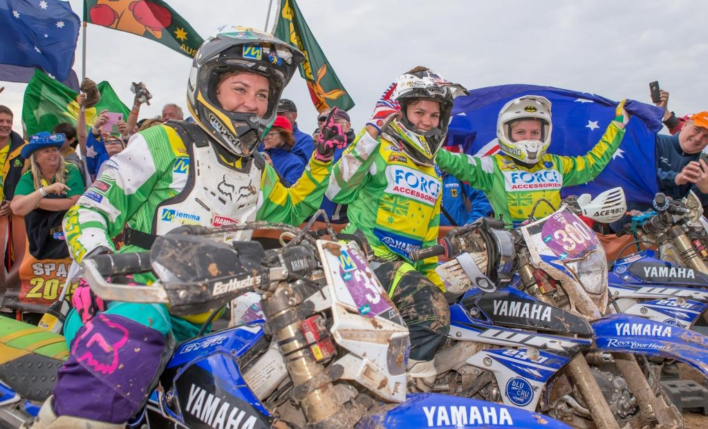 The Yamaha girls took on the world at ISDE 2016 and win for the fourth time