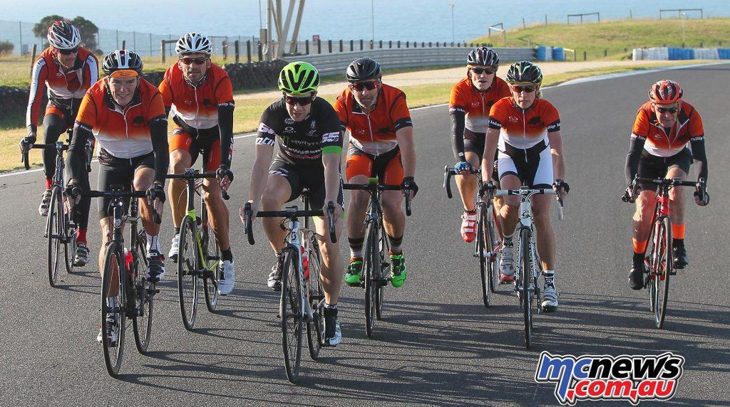 Jonathan Rea cycling Phillip Island - SD Pics