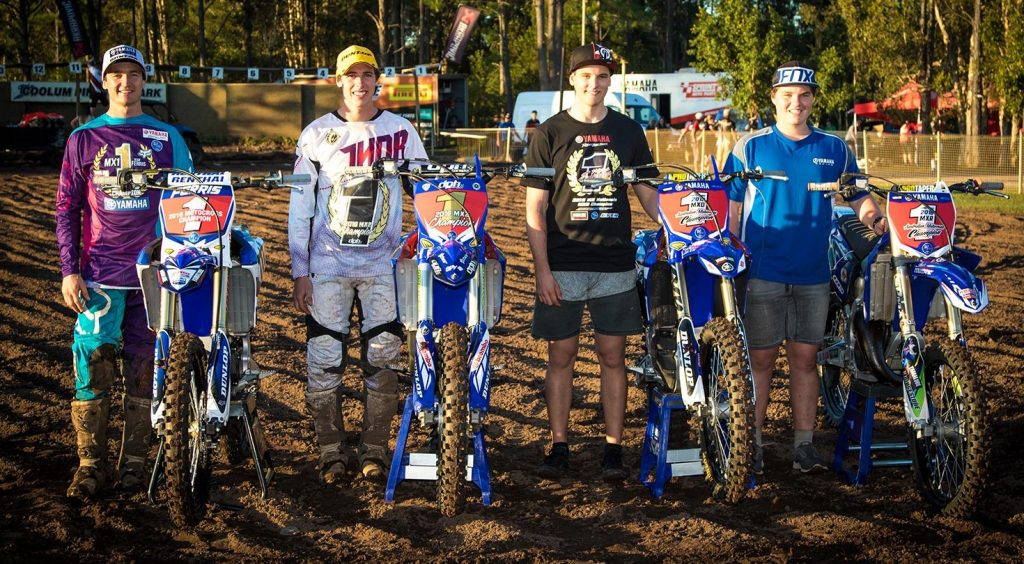 Four Yamaha mounted MX Nationals crowns in 2016