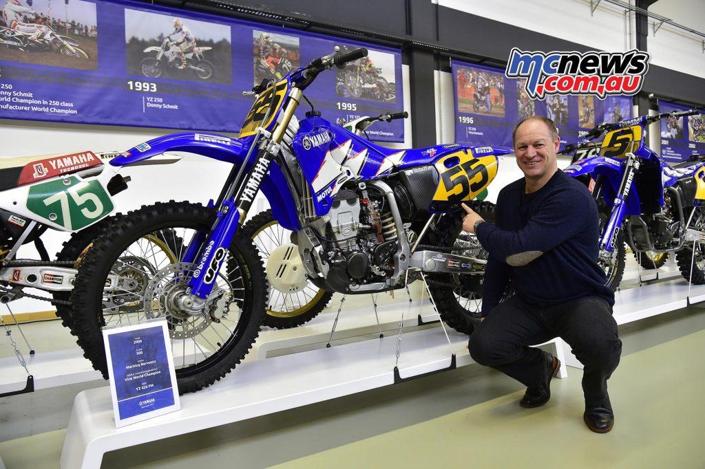 Marnicq Bervoets - 2000 Yamaha YZ426FM - 500cc Vice Champion