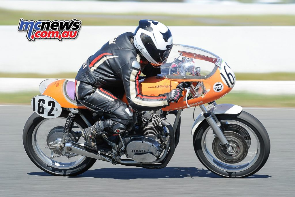 Australian Historic Road Racing Championships 2016 - Image by Colin Rosewarne - Stacey Heaney - Yamaha XS650