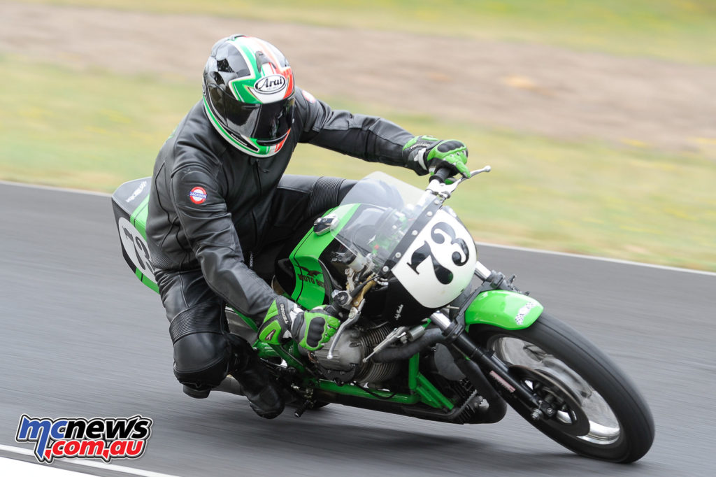 2016 South Australian Historic Road Racing Championship - Mac Park - Andrew Hawkes, Moto Guzzi V7