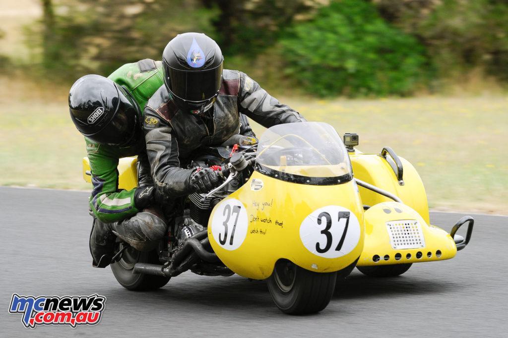 2016 South Australian Historic Road Racing Championship - Mac Park - Craig Longhurst/Nina Eitenberg, Tranzac Honda