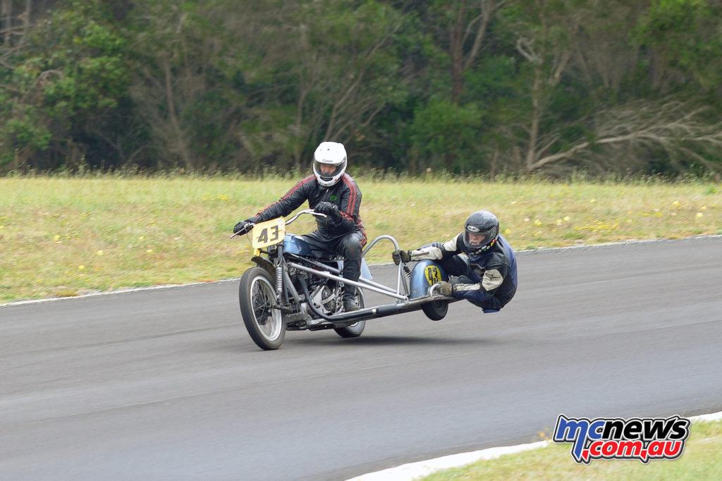 2016 South Australian Historic Road Racing Championship - Mac Park - David Wain/Greg Ditchfield, Tri Ariel