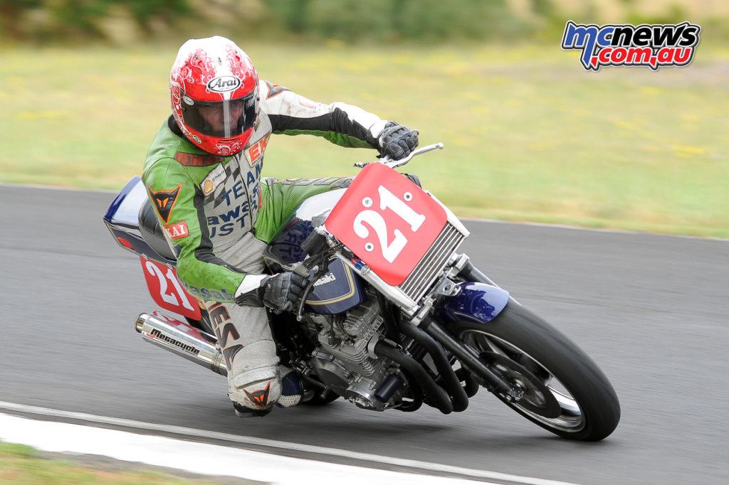 2016 South Australian Historic Road Racing Championship - Mac Park - Denis Ackland, Kawasaki Z1000 Mk2