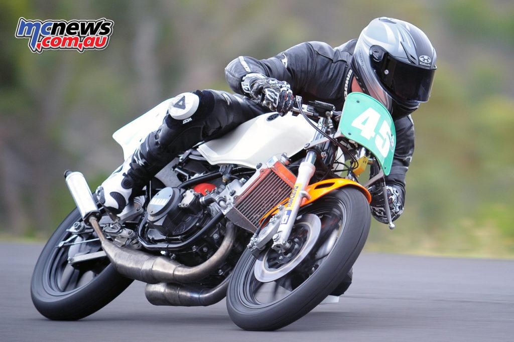 2016 South Australian Historic Road Racing Championship - Mac Park - Nathaniel Wilson, Yamaha 250LC