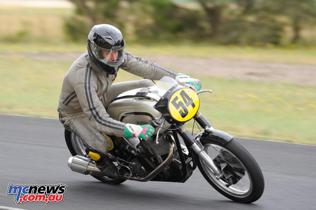 2016 South Australian Historic Road Racing Championship - Mac Park - Robert Bull, Norton Manx 500