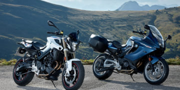 2017 BMW F 800 R and F 800 GT