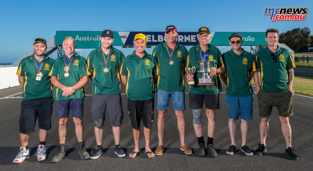 The Aussie Team had to settle for second in the International Challenge once again, just 11-points behind the UK.