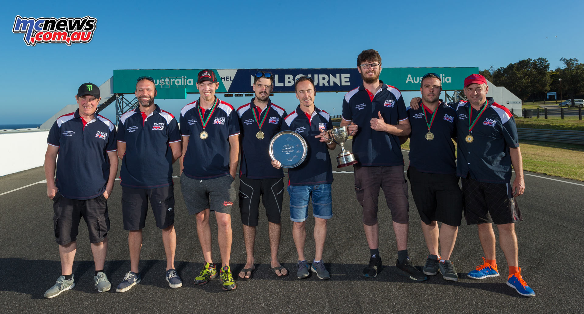 Team UK wins the International Challenge with an 11-point lead over Team Australia