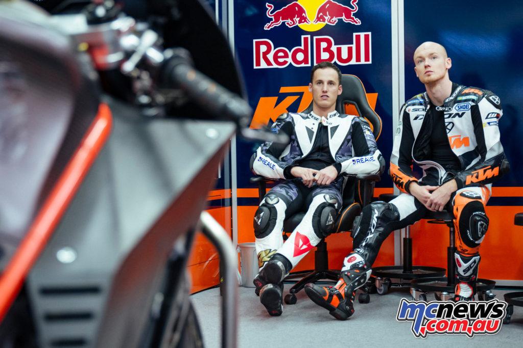2017 MotoGP Sepang Test - Pol Espargaro and Bradley Smith