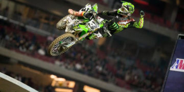 Tomac enjoyed arguably the most dominant outing of the 2017 season. Photo: Feld Entertainment, Inc.