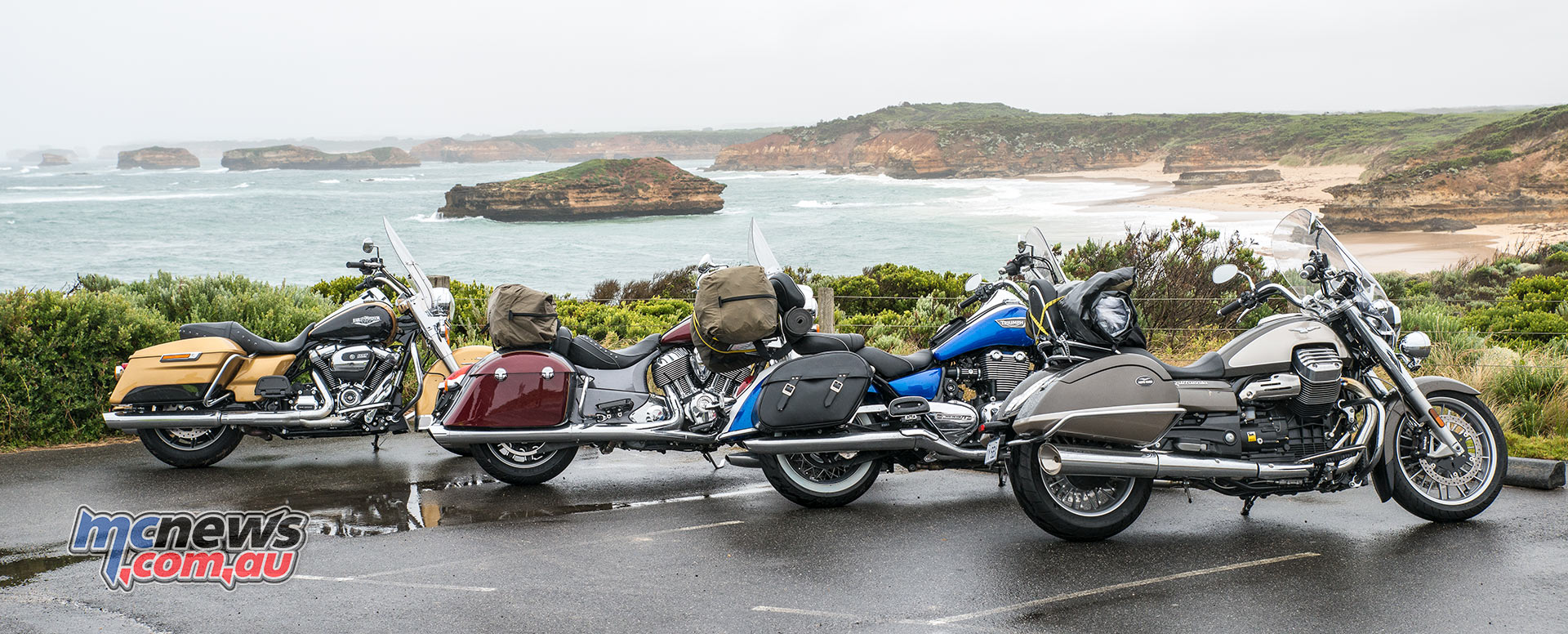 Overlooking the Bay of Islands on The Great Ocean Road