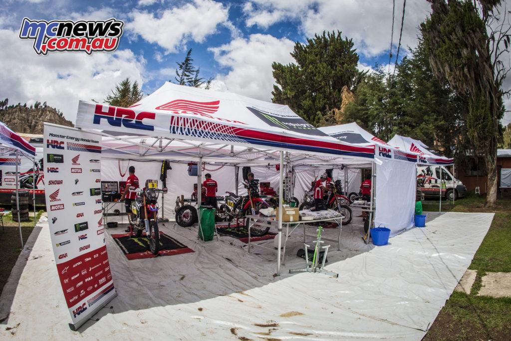 Dakar 2017 - HRC Monster Energy Honda Team