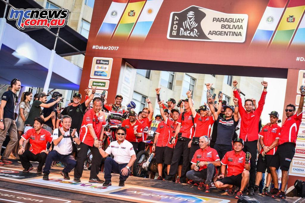 Monster Energy Honda Team - Dakar 2017