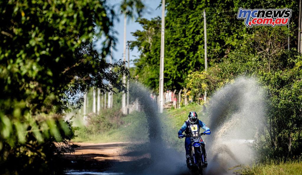 Dakar 2017 - Stage 1 - Adrien Van Beveren - Image: Yamaha Racing