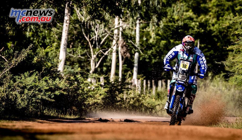 Dakar 2017 - Stage 1 - Alessandro Botturi - Image: Yamaha Racing