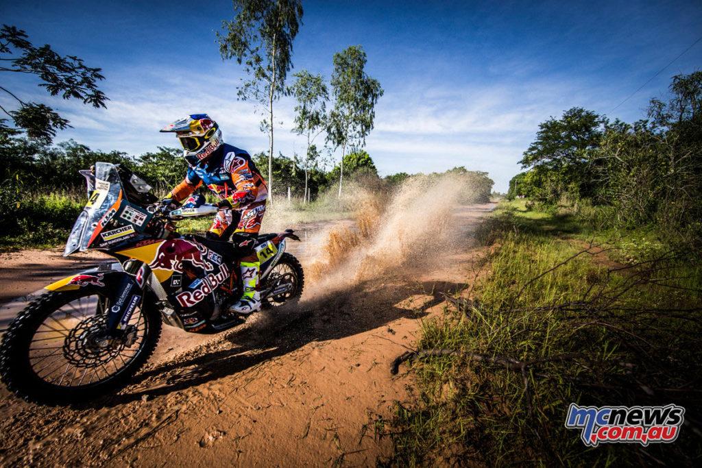 Dakar 2017 - Stage 1 - Sam Sunderland - Image: Marcin Kin